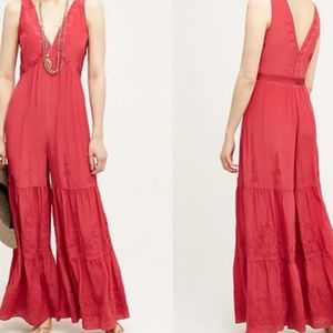 Elevenses jumpsuit from anthropologie